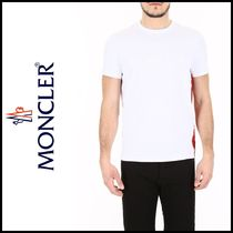 MONCLER 2018 春夏 Tシャツ T-Shirt With Rubber Print