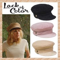 【lack of color】Lola キャップ Black/Taupe/Pink