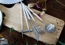 [CUTIPOL] ディナーセットCutlery set(WHITE-SILVER/4P)