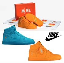 大人もOK*NIKE*LIKE MIKE Jordan Retro 1 High OG Gatorade