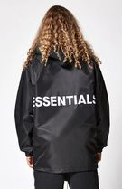 新作購入証明付 FOG Essentials COACH JACKET fear of god BLACK