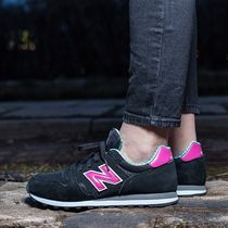 New Balance●WL373WPG 黒×ピンク 関税/送料込追跡付