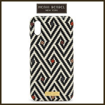 ★Henri Bendel★WEST 57TH・PRINTED★IPHONEX★CASE★