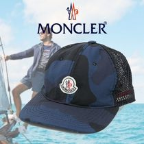 ★MONCLER(モンクレール)メンズ・ロゴ・ キャップ♪♪