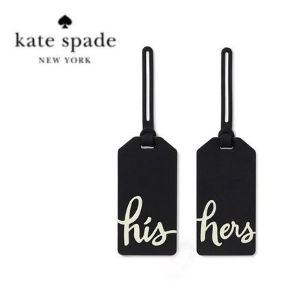 kate spade new york ラゲッジタグ 【カップルに!】Kate Spade his and hers トラベルタグ