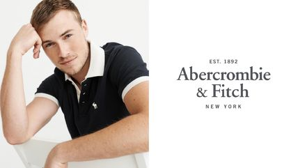 Abercrombie & Fitch ポロシャツ ★送料無料★Abercrombie & Fitch(アバクロ)★日本未入荷★