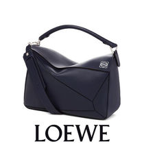 LOEWE Puzzle Large Bag 大人のモードな色合いが上品 2WAYバッグ