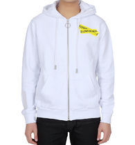 【関税負担】 OFF WHITE ZIP-UP HODDIE