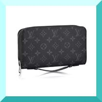 LOUIS VUITTON ルイヴィトン モノグラム エクリプス ジッピーXL