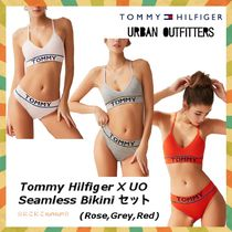 Tommy Hilfiger X UO ブラ&パンツ セットアップ(Red,Grey,Rose)