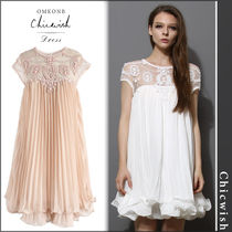 【国内発送・関税込】Chicwish★Beads Embellished Dolly Dress