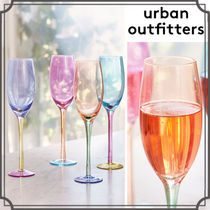 ☆Urban Outfitters カラーフルートグラス/4色セット☆送関込