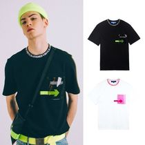 STEREO VINYLS COLLECTION(ステレオビニールズコレクション) Tシャツ・カットソー ☆STEREO VINYLS☆ [SS18 ISA] Transparent Pocket T-Shirts