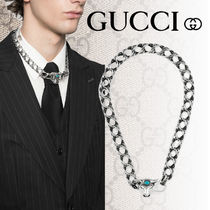 【GUCCI】2108SS ANGER FOREST ブルヘッド シルバー ネックレス