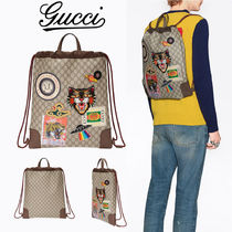 【GUCCI】グッチcourrierクーリエ*ドローストリングバックパック
