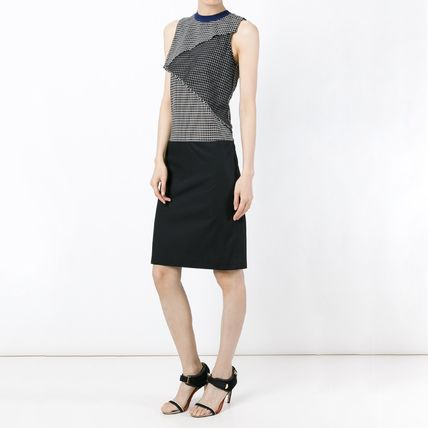 CARVEN ワンピース SALE)CARVEN(カルヴェン) sleeveless checked dress