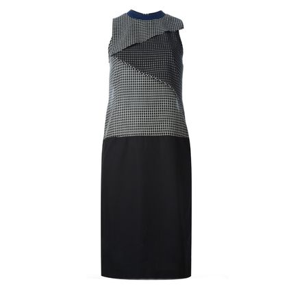 CARVEN ワンピース SALE)CARVEN(カルヴェン) sleeveless checked dress(2)