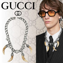 【GUCCI】2108SS ANGER FOREST ホーンペンダント ネックレス