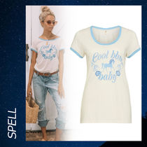 SPELL(スペル) Tシャツ・カットソー 関税込 SPELL COOL BLUE BABY Tシャツ シャツ 半袖 カットソー