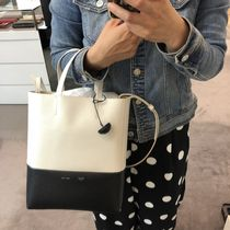 【CELINE】18/19AW新作 SMALL CABAS (White/Black)