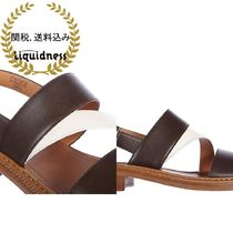 Church s leather sandals  antic