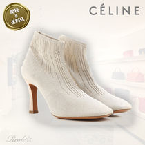 【CELINE】☆stretch perforated knit グローブ ブーティ☆