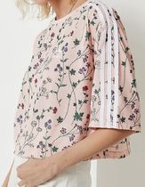 adidas Originals Floral Cropped Tee