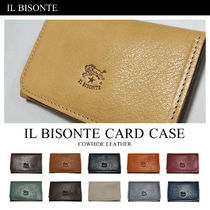 IL BISONTE(イルビゾンテ) カードケース・名刺入れ イルビゾンテ IL BISONTE 本革 レザー カードケース 名刺入れ