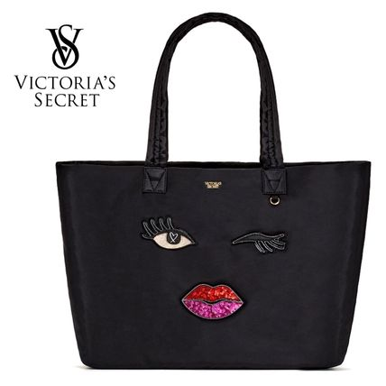 Victoria's Secret マザーズバッグ New ♪ Runway Patch Weekender Tote  ★Victoria's Secret