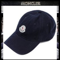 【MONCLER モンクレール】18SS ロゴパッチ キャップ NAVY/追跡付