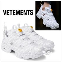 関税込/国内発送★VETEMENTS x REEBOK INSTAPUMP FURY★EMOJI★