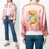 18SS WG313 'GUCCIFICATION' BOMBER JACKET