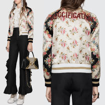 18SS WG314 'GUCCIFICATION' BOMBER JACKET