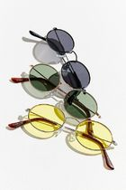☆日本未入荷☆ Urban Outfitters/ Slim Oval Metal Sunglasses
