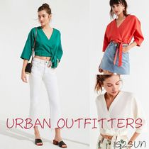 ☆日本未入荷☆ Urban Outfitters/ Kimmy Wrap Cropped Top