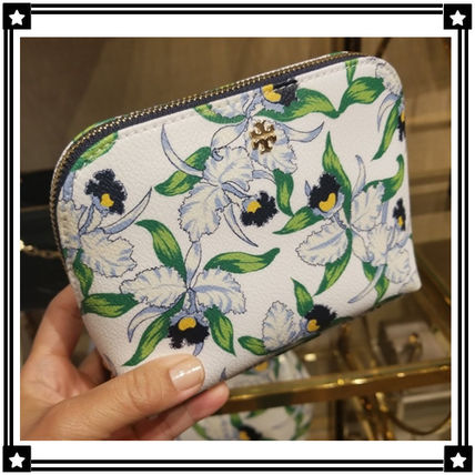 Tory Burch メイクポーチ Tory Burch☆KERRINGTON COSMETIC CASE☆メイクポーチ 48368
