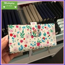 【kate spade】華やかお花柄♪カード用財布  stacy★内側black♪