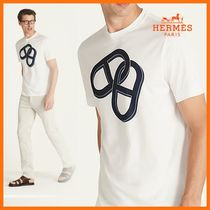 HERMES☆Maillons Chaine d'Ancre t-shirt/Ocean