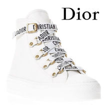 【18SS】★Dior★Dior White Laced Sneakers With Logo