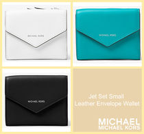 [セール]マイケルコース☆Jet Set Small Leather Envelope