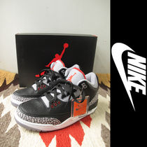 NIKE:Air Jordan 3 Retro OG(BLACK CEMENT)