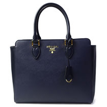 プラダ 2WAY ハンドバッグ 1BA189 SAFFIANO+SOFT CALF(bag-6174)