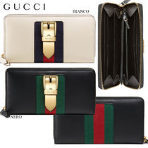 【正規品保証】GUCCI★18春夏★SYLVIE ZIP AROUND WALLET