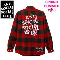 数量限定 希少★ANTI SOCIAL SOCIAL CLUB Kkoch Flannel★シャツ
