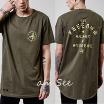 【SALE】CAYLER&SONS CSBL FRDM LONG SCALLOP Tシャツ OLIVE