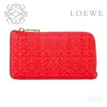 LOEWE★ロエベ Coin/Card Holder Primary Red
