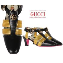 【GUCCI】bicolor leather pumps☆バイカラーレザーパンプス