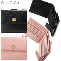 【正規品保証】GUCCI★18春夏★LEATHER FRENCH FLAP WALLET