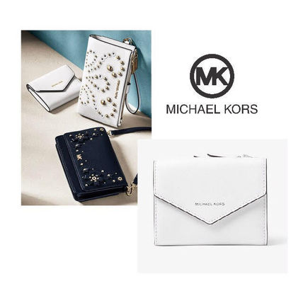 新作☆Michael Kors☆Jet Set☆Envelope三つ折り財布6色