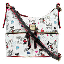 Mickey & Minnie Mouse Sweethearts Pocket Sac Shoulder Bag
